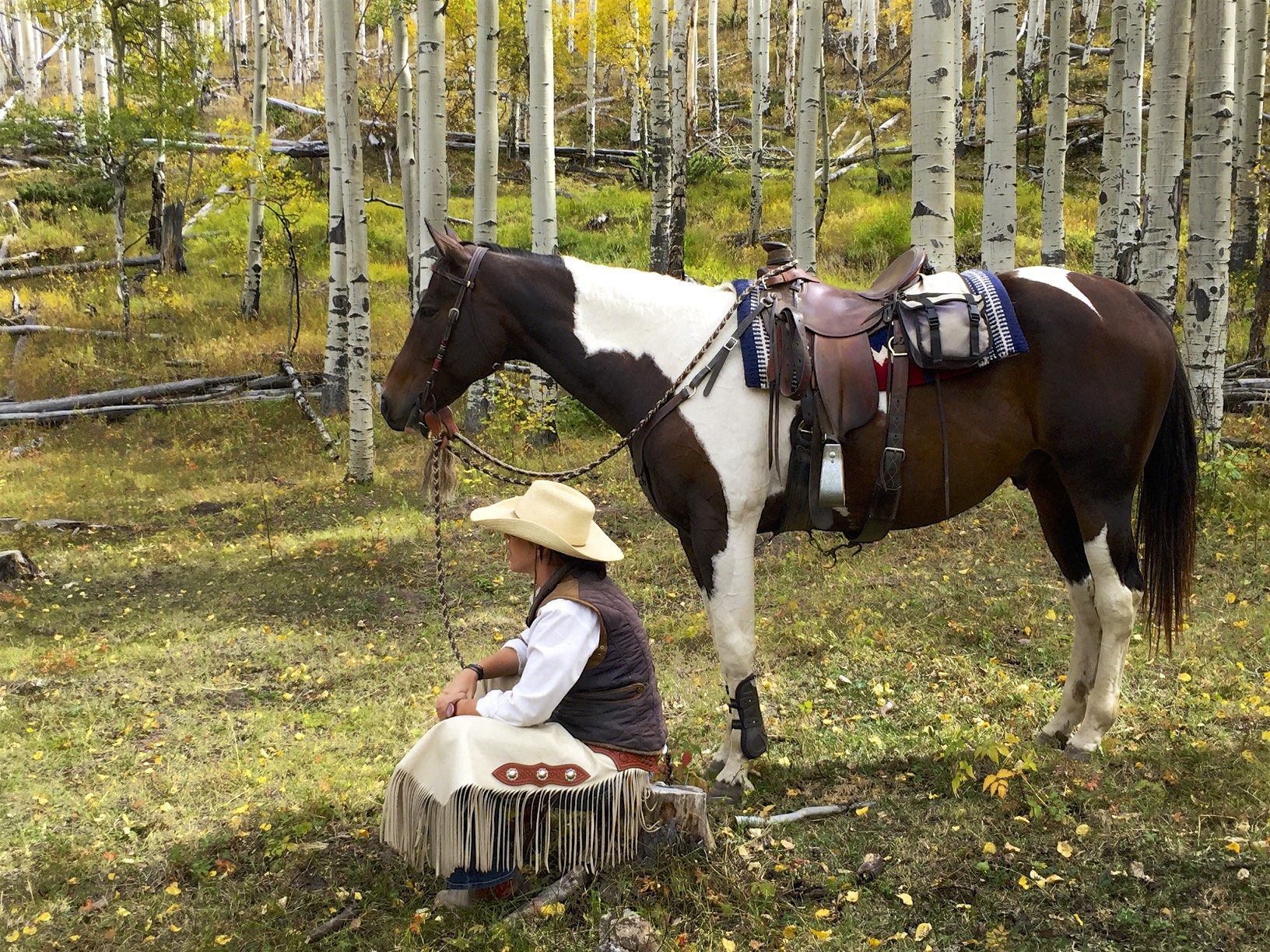 Listen deeply to the sounds of nature at this dude ranch retreat for women.