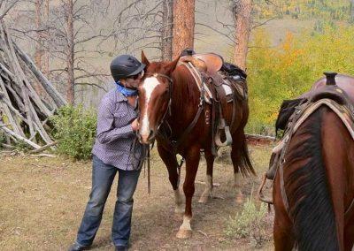 kissing-horse