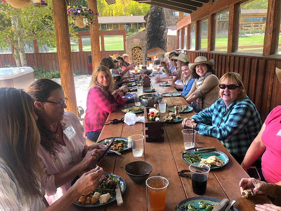 Sunday lunch with the woman herd at the Patio House